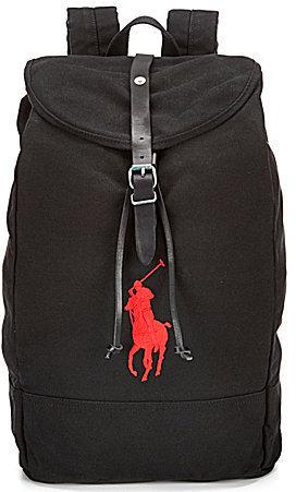 ... Polo Ralph Lauren Big Pony Canvas Backpack 10190e21dc245