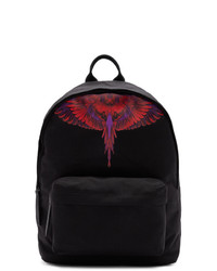 Marcelo Burlon County of Milan Black And Red Wings Backpack