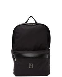 Neil Barrett Black Eco Leather Backpack