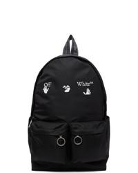 Off-White Black Logo Backpack