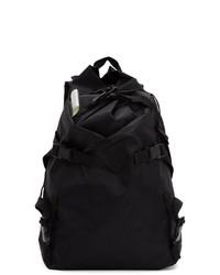 The Viridi-anne Black Macro Mauro Edition Wrinkled 3 Layer Backpack