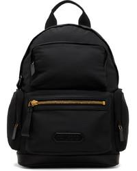 Tom Ford Black Multi Compartt Backpack