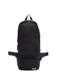 Y-3 Black Packable Backpack