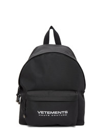 Vetements Black Reflector Backpack