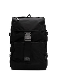 Moncler Black Rhone Backpack