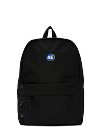 Ader Error Black Stone Logo Backpack