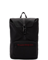 Alexander McQueen Black Urban Backpack