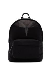 Marcelo Burlon County of Milan Black Wings Backpack
