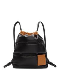 Loewe Black Yago Puffy Backpack