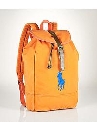 ... Polo Ralph Lauren Canvas Backpack ... 87ce7d1742cec