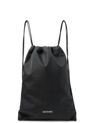 Balenciaga Explorer Canvas Drawstring Backpack