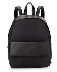 Harper Leather Nylon Backpack