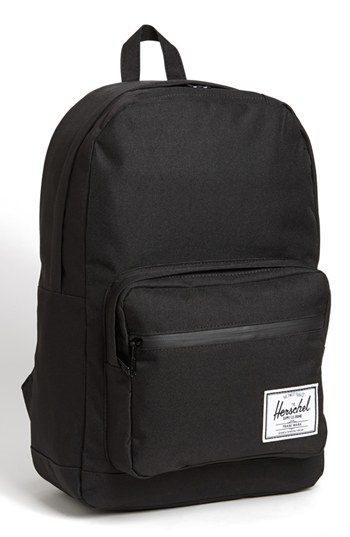 62ac7a350c0d Black Canvas Backpacks Herschel Supply Co. Pop Quiz Backpack Black Black  One Size