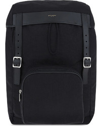 Saint Laurent Hiking Canvas Backpack