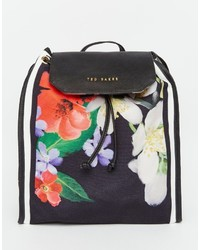 Ted Baker Hilarry Canvas Backpack