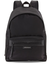 Longchamp Le Pliage No Medium Backpack Black