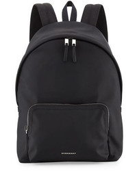 Burberry London Nylon Backpack Black