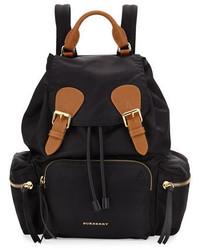 Burberry Nylon Backpack Black