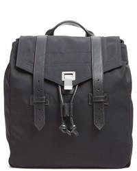 Proenza Schouler Ps1 Nylon Backpack Black