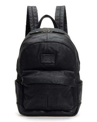 Frye Small Scout Canvas Leather Backpack