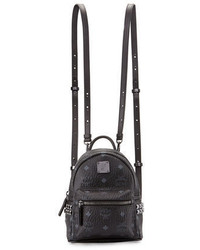 MCM Stark X Mini Side Stud Backpack
