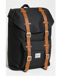 Supply co little america mid volume backpack black medium 249376
