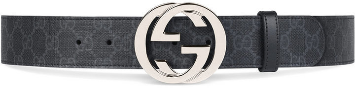 5999d437c05 Gucci Gg Supreme Belt With G Buckle