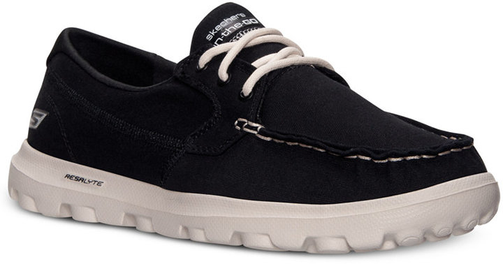 skechers on the go atlantic mens boat shoes