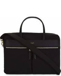 Knomo Mayfair Hanover Slim Nylon Briefcase