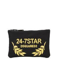 Dsquared2 24 7 Star Clutch Bag