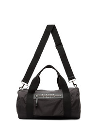 Valentino Black Garavani Vltn Medium Boston Duffle Bag
