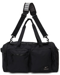 Nike Black Medium Utility Power Training Duffle Bag