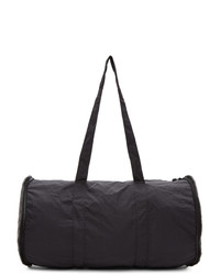 Bottega Veneta Black Round Pouch Duffle Bag