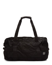 Stone Island Black Travel Duffle Bag