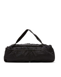 Guidi Black Weekender Expandable Duffle Bag