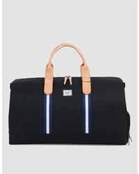 Herschel Novel Offset Weekend Bag In Blackblue
