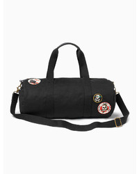 Lucky Brand Patch Duffle Bag