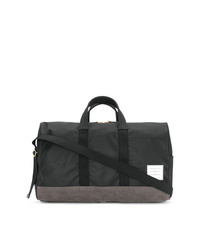 Thom Browne Unstructured Holdall In Nylon And Suede