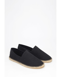 21men 21 Canvas Espadrille Slip Ons