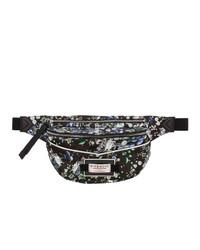 Givenchy Black Flower Print Bum Bag