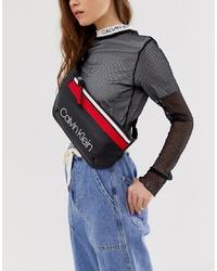 Calvin Klein Jeans Calvin Klein Logo Crossbody Bag With Sports Stripe Detail