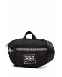 VERSACE JEANS COUTURE Logo Patch Zip Up Belt Bag