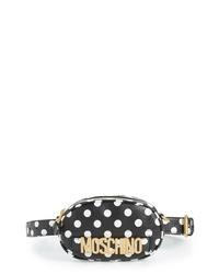 Moschino Logo Polka Dot Belt Bag