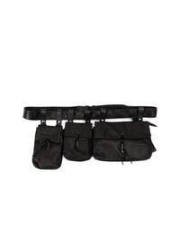 Yohji Yamamoto Multi Pack Shoulder Bag
