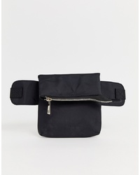 Missguided Utility Bum Bag In Black