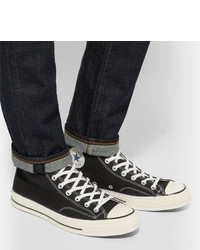 Cheap Best Place Fake Cheap Online 1970s Chuck Taylor All Star Canvas High-top Sneakers Converse Clearance Nicekicks Countdown Package Sale Online riJSri