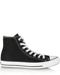 Chuck taylor canvas high top sneakers black medium 529831