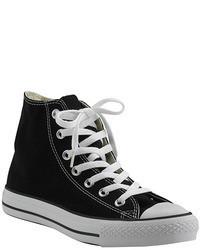 Chuck taylor lace black canvas hi top sneaker medium 42526