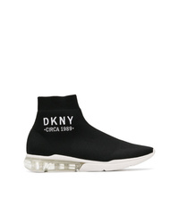 DKNY Logo Sock Sneakers