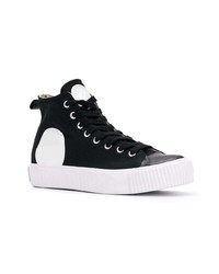 McQ Alexander McQueen Swallow High Top Plimsolls